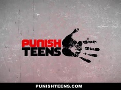 PunishTeens - Latina Gets Dominated And Ass-Fucked