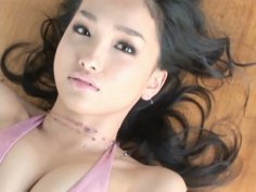 Cock hardening erotic video with astonishing Asian Reon Kadena