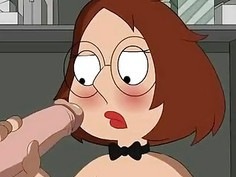 Family Guy Porn Meg comes into closet