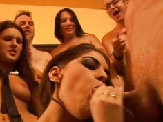 Males gangbang their gfs