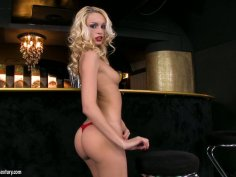 Luxurious blonde slut Erica Fontes is a dream girl from heaven