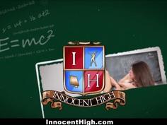 InnocentHigh - Petite Schoolgirl Banged In The Classroom