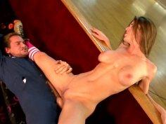 Petite slut Kayla Paige in crazy fucking for big load of cum