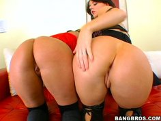Nice threesome with fluffy hookers Sophie Dee and Nikki Grind