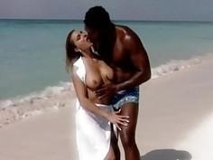 romantic fuck on the beache