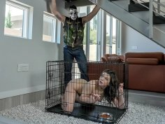Lady in Cage wants to Learn Anal Stuff from Karl!