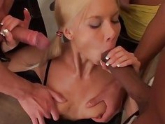 Hard Fucked three young blonde xxx
